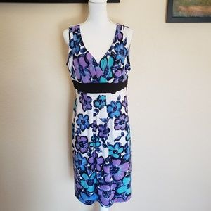 Ronni Nicole floral dress. Size 14